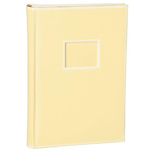 Semikolon (351128) 300 Pocket Album chamois (sand) - Fotoalbum/Fotobuch mit Einschubtaschen für 300 Bilder im Format 10x15 cm - 3 Bilder pro Seite