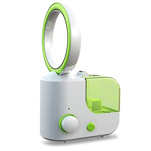 SKYEI Ventilador sin cuchilla Mini humidificador de aire acondicionado sin aspas Purificador de humectación Ventilador B