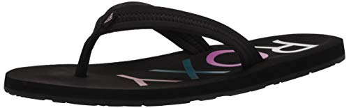 Roxy Women's Vista Sandal Flip-Flop, Black 20, 8 M US