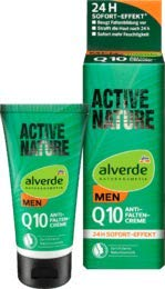 alverde MEN Active Nature Q10 Anti-Falten Creme, 50 ml