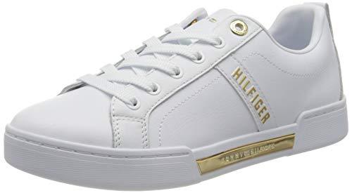 Tommy Hilfiger Damen Katerina 4a Sneakers, Weiß, 40 EU