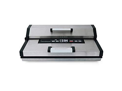 Profi Gewerbe-Vakuummaschine Maxxo VM Master 25l / min - DOPPELPUMPE Doppelschweißnaht, eingebautem Cuttermesser und LED