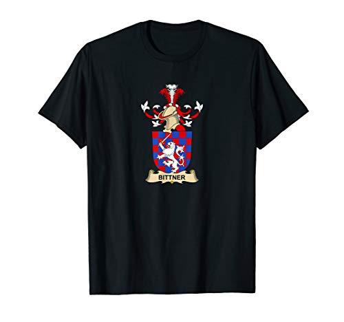 Bittner Coat of Arms - Family Crest T-Shirt