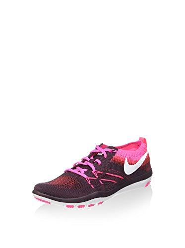 Nike Damen Free TR Focus Flyknit Fitnessschuhe, lila/pink, 36.5 EU