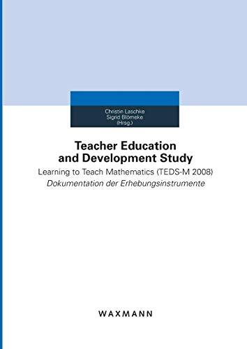 Teacher Education and Development Study: Kompetenzen diskursiv