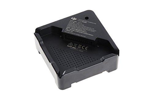 DJI Mavic Pro - Akkuladestation für Drohne Mavic Pro, Ideal um bis zu 4 Batterien nacheinander zu laden - Schwarz