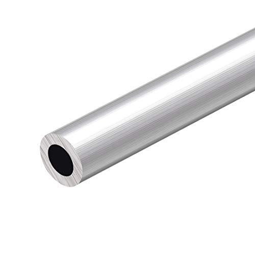 sourcing map 6063 Aluminio Redondo Tubo 300mm Longitud 20mm OD 10-18mm Diámetro Interior Sin Costura Aluminio Recto Tubería ID de 10 mm x 20 mm de diámetro exterior