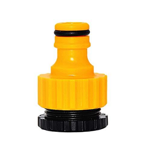 Kunststoff-Wasserhahnverbinder Außengewindeschlauch Adapter Wasserhahnadapter Kunststoffhahnverbinder Kunststoffhahnverbinder für 1/2 Zoll 20 mm Wasserhahn Außengewindeschlauch Schlauchanschluss