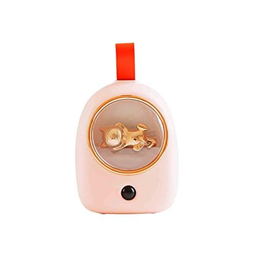 XDXT Luz nocturna portátil con sensor bonito, regalo de lámpara LED inteligente con dos modos y tres luces de color cálido, para dormitorios, pasillos, armarios, regalos para niños, color rosa