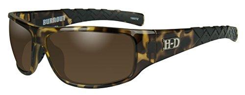 HARLEY-DAVIDSON Wiley X Burnout Copper Tortoise Motorrad Brille