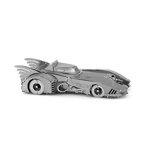 Metal Puzzle Metal Earth Fascinations Batman 1989 Batmobile 3D Laser Cut Models, Rompecabezas de Metal