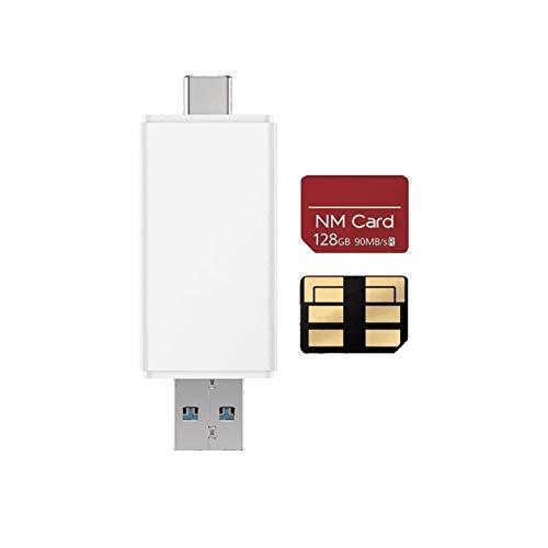 Huawei 55030701 Nano Memory Card 128 GB mit Kartenleser