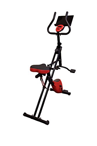 j/fit 2-in-1 Low Impact Exercise Core Rider & Stationary Bike