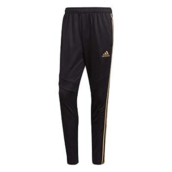 adidas Men s Standard Tiro 19 Pants Black/Reflective Gold Medium
