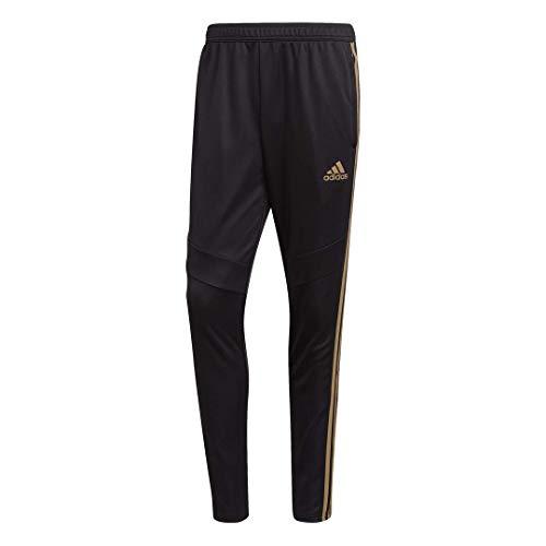 adidas Tiro 19 Herren-Hose, Herren, Hosen, Tiro 19 Training Pants, Schwarz/reflektierend Gold, Large