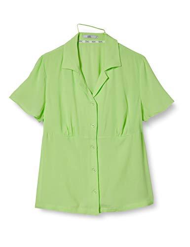 edc by Esprit 040cc1f316 Camicia da Donna, 760/Lime Yellow, XS