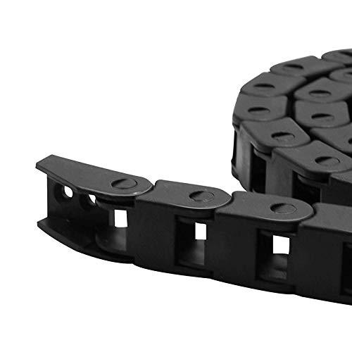 XBaofu 1pc 1m Antriebsketten 7x15 / 10x10 / 10x15 / 10x20 / 10x30 / 10x40 Kunststoff Towline Nylon Kabelschlepp Drahtträger for CNC-Strecke (Größe : 7X7mm)