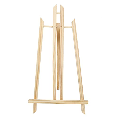 Caballete, mesa de madera de la exhibición de escritorio del tenedor de la pintura para hacer publicidad para casarse(50cm)