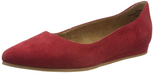 Tamaris Damen 1-1-22118-24 Geschlossene Ballerinas, Rot (Lipstick 515), 39 EU