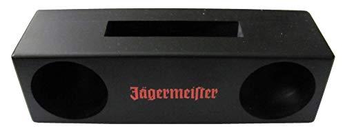 Jägermeister - Passiv Echtholz Lautsprecher für Smartphone - 18 x 5,5 x 5 cm