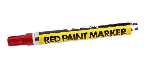 Forney 70820 Marker, Paint, Red