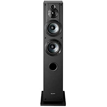 Sony SS-CS3 Stereo High-Resolution Three-Way Floor-Standing Single Speaker (2020