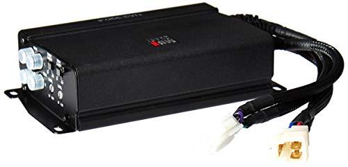 MB Quart NA2-320.4 Compact Four Channel, 320 watt Powersports Amplifier, Black