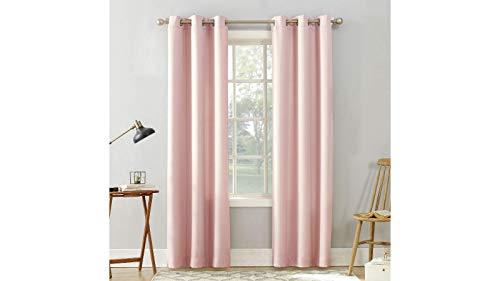 jcp Valerie Grommet-Top Curtain Panel (Pink, 40 x 84)
