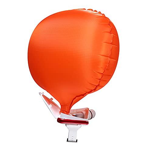 BMDHA Salvavidas Pulsera, Pulsera De Rescate Flotabilidad 100kg Inflado Rápido, Pulsera Inflable Equipo De Natación con Brújula Apto para Surf Y Deportes Acuáticos