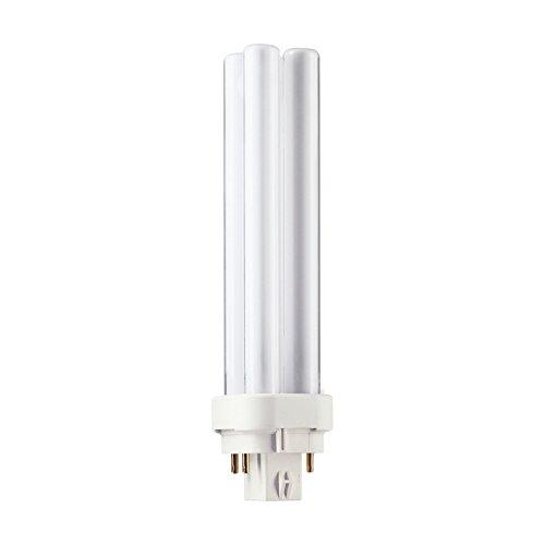 Philips Master PL-C XTRA 4-pins 18 W G24q A Warm White fluorescerende lamp – fluorescerende lampen (18 W, Pin, 4P, G24q, 1200 lm, warm wit)