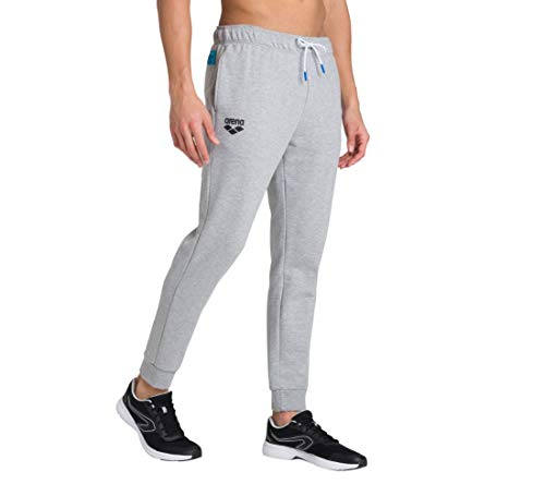 ARENA Herren Sport Hose Fleece Te Pantalón de Deporte, Hombre, Color Gris, Medium