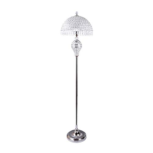 Tafellamp voor slaapkamer, woonkamer, staande lamp, minimalistisch, Nordic verticaal W1/2 (kleur: goudkleurig, grootte: warm, voetschakelaar met pedaal), grootte: schakelaar voor warme voeten, kleur: zilver