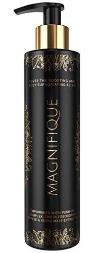 Onyx Magnifique Sunbed Dark Tanning Lotion Bronzing Accelerator - Dark Tan Result - Push-Up Complex Coffee Blend - Lightweight Formula