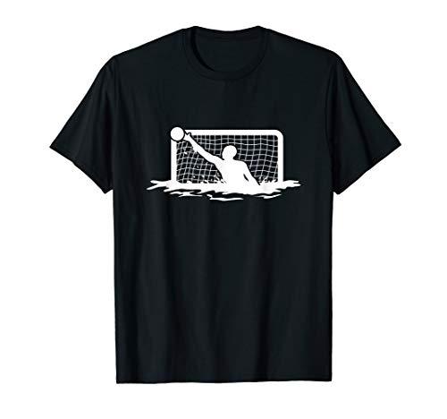 Wasserball Wasserballtor Torwart T-Shirt