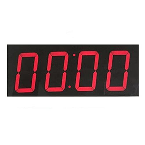 ZDAMN Tabelloni Segnapunti Pallacanestro Game Scoreboard LED LED Supporto del tabellone segnapunti del Tasto segnapunti Timer Timer Badminton Balldi per Le attività Sportive