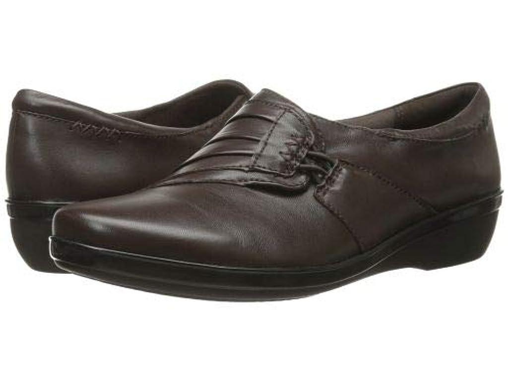 太鼓腹二スチュワードClarks(クラークス) レディース 女性用 シューズ 靴 ローファー ボートシューズ Everlay Iris - Brown Leather [並行輸入品]