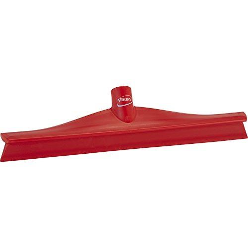 Vikan trekker van rubber, polypropyleen, 1 lemmet, 16 Zoll, rood, 1