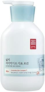 ILLI Ceramide Ato Lotion 350ml for all skin types of aduls and kids for face & body
