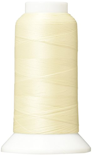 Superior Threads - The Bottom Line Polyester Sewing Thread for Quilting, Applique, and Bobbin Thread, 651 Ivory, 3,000 Yds.