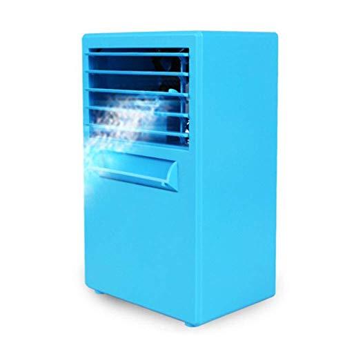 3 in 1 tragbare Mini-Klimaanlage, Luftbefeuchter und Luftreiniger mit 3 Geschwindigkeiten für schnelles kühles Home Office-Schreibtisch-Schlafzimmer im Freien