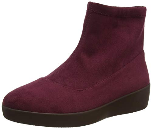 FitFlop Women's Ankle Boots, Purple Berry Mix 621, 40
