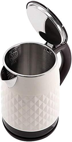 Caldera eléctrica estilo jarra, hervidor eléctrico, hervidor eléctrico, 2000-2500 W, 2 L, sin BPA, ebullición rápida, eficiencia energética