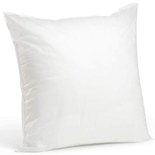 2 Rellenos cojines sofa hipoalergénicas para funda cojines decoracion y para almohadas de cama (60x60)