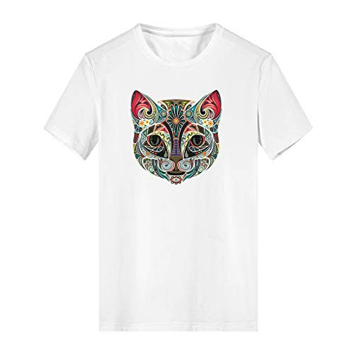 FRAUIT-kinder-T-shirt casual ronde hals meisjes/jongens korte mouwen katoenen T-shirt top S, M, L, XL, XXL, XXXL