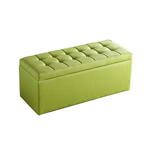 Milieuvriendelijk en smaakneutraal, groene opbergbox zitzak softcover afneembaar voor balkon in de woonkamer robuust belastbaar. 40x40x40cm Qfb612-w4