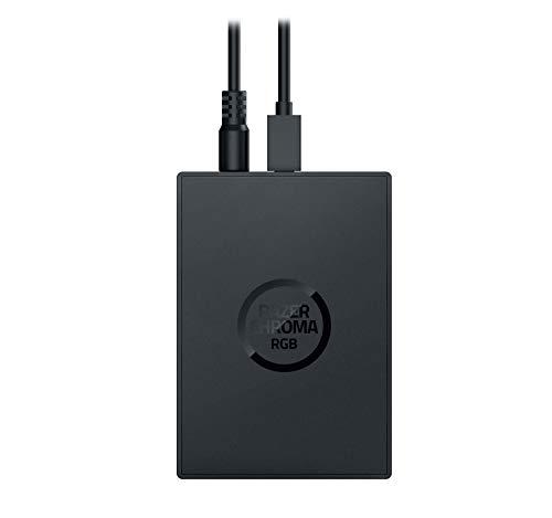 Razer Chroma Addressable RGB Controller - Adressierbarer RGB-Hub für ultimative Beleuchtungsanpassungen (Universal-Kompatibilität zu ARGB Geräten, 6 Anschlüsse, SSD-Befestigungspunkte)