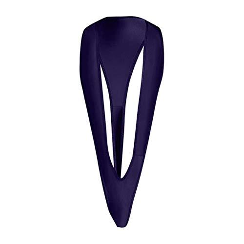 SEXYSY Super Mini Ropa Interior Sexy Lencería de Tres Puntos Body Ajustado Transparente Juego de Roles Traje de baño en Forma de V Sin Espalda en Forma de Y