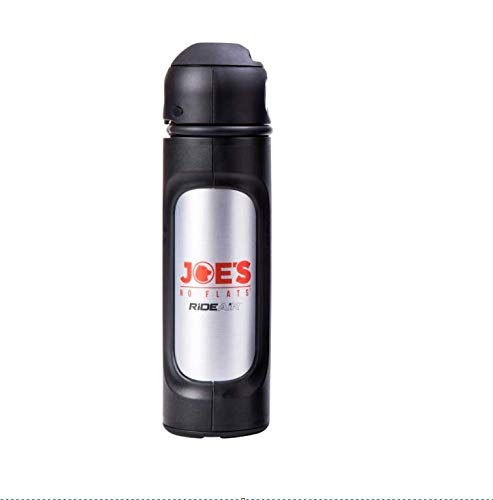Joe's Ride Air Portable Air Compressor Bike Pump Without Lock, Black, one Size, 3 Ounce