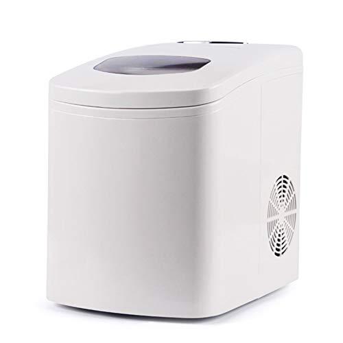 Portable Ice Maker, automatische ijsmaker, Quick Ice Making, Quiet Noise Reduction, 1.7L grote capaciteit Visible transparant venster geschikt voor thuis of op kantoor