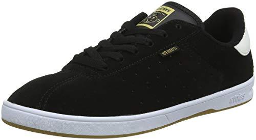 Etnies Men's The Scam Skate Shoe, Black/White/Gum, 13 Medium US